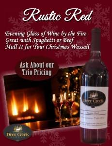 Deer Creek Winery - December Wine of the Month