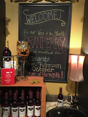 Deer Creek Winery in Pittsburgh at The Mall of Robinson