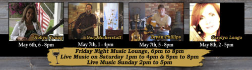 Live Music at Deer Creek Winery May 2016 Week 1