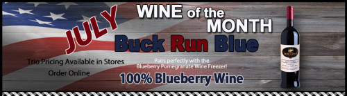 Deer Creek Winery Wine of the Month for July 2015