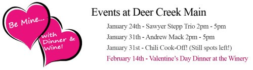 Events at Deer Creek Winery