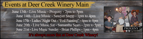 June Events at the Winer