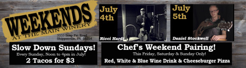 July 4th Event at Deer Creek Winery