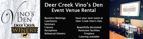 Deer Creek Vino's Den Clarion County Venue