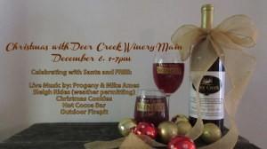 Deer Creek Winery Christmas Event