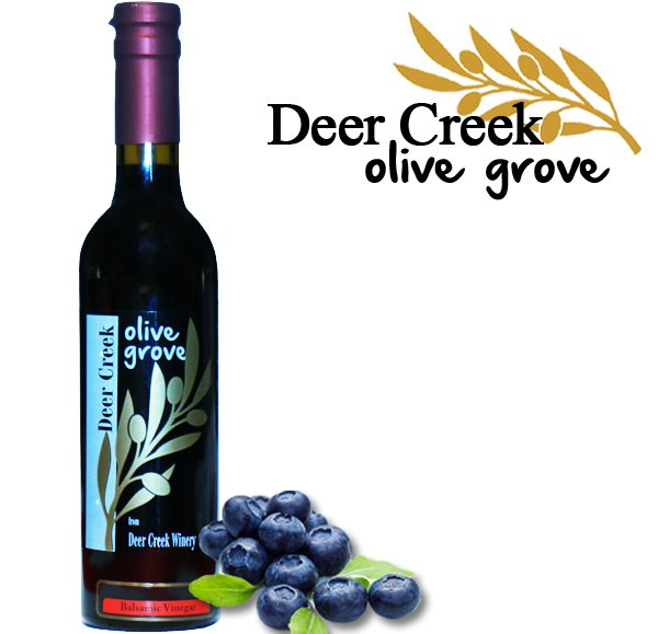 All Natural Blueberry Dark Balsamic Vinegar