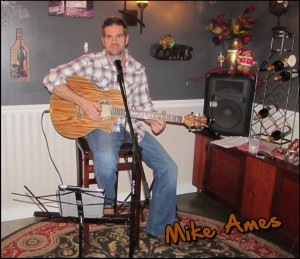 Mike Ames at Deer Creek Winery Music Event.