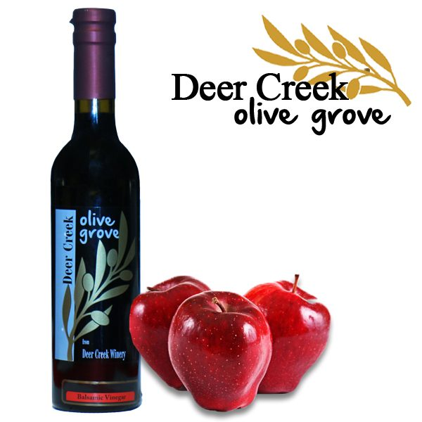 Red Apple Aged Balsamic Vinegar from Deer Creek Olive Grove