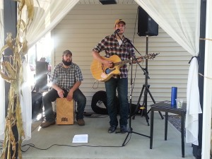 Andrew Mack at Deer Creek Winery