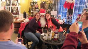 Fun at Deer Creek Winery Christmas Event