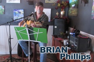 Brian Phillips Live Music Saturday at the Deer Creek Winery