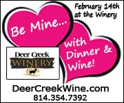 Valentine's Day Dinner at the Winery