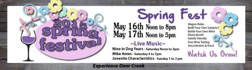 2015 Deer Creek Winery Spring Festival