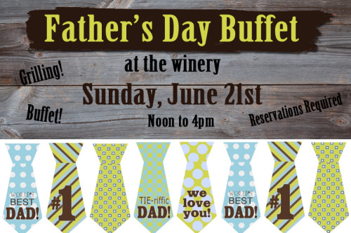 Father's Day Dinner at the Winery!