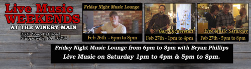 Live Music Saturday February 2016 Week 4