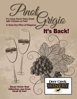 Deer Creek Wine Pinot Grigio