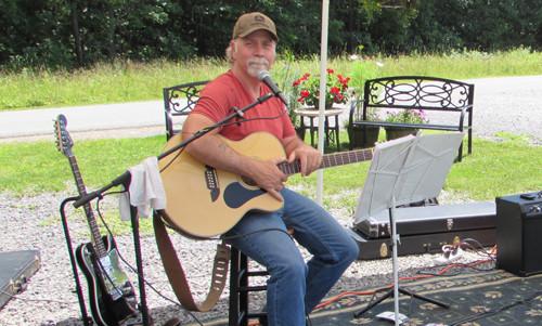 Bryan Phillips at Deer Creek Winery