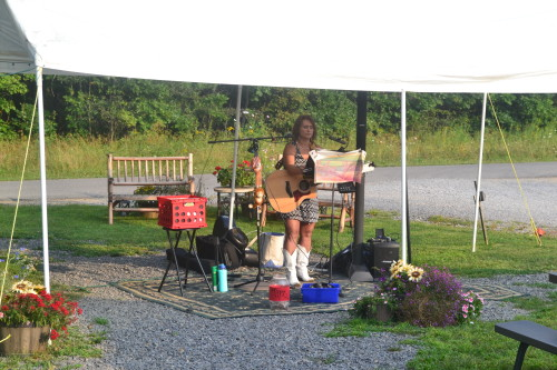 Robyn Young at Deer Creek Winery