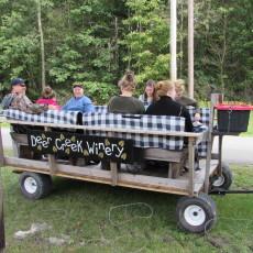 Wagon Ride at Fall Fest 2015