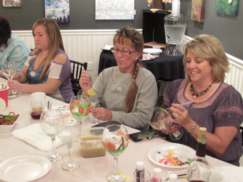 Ladies' Night Out with Art & Wine