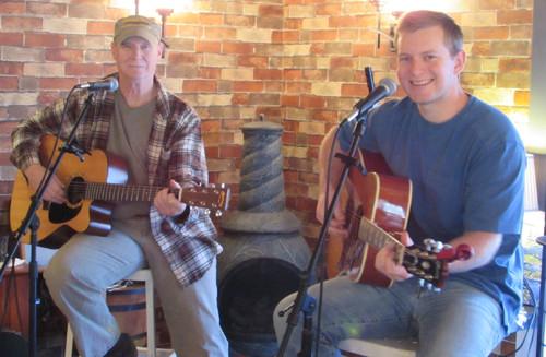 Sawyer Stepp & Smokee at Deer Creek Winery
