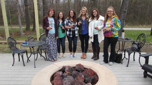 Wedding Party at Deer Creek Winery