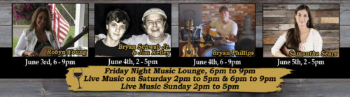 June 2016 Week 1 Live Music