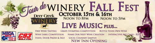 Deer Creek Winery Fall Fest 2016