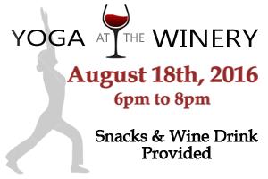 Deer Creek Winery Yoga & Essential Oils Class