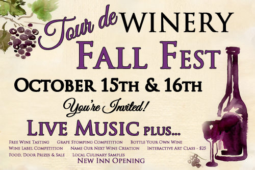 Deer Creek Winery Fall Fest 2016 Events