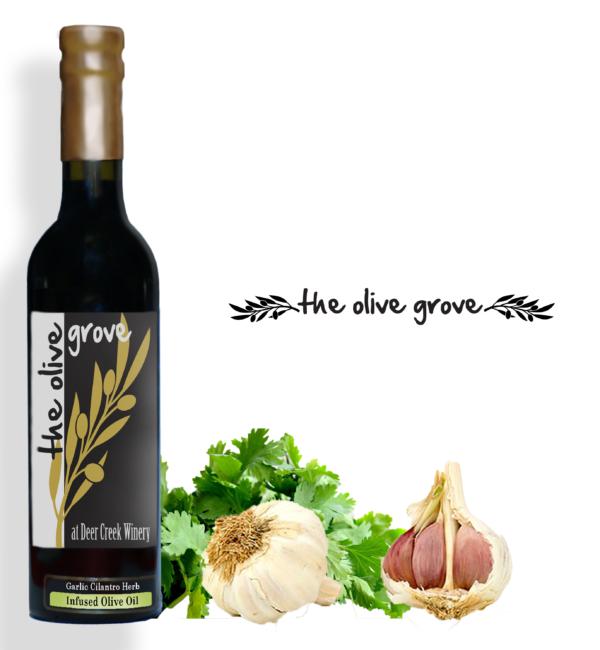 Garlic Cilantro Herb Infused OO