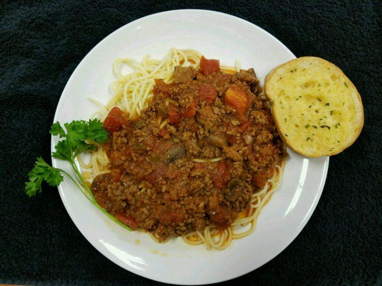 Pasta Night Wednesday- Spaghetti Marinara
