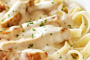 Pasta Night Wednesday- Chicken Alfredo