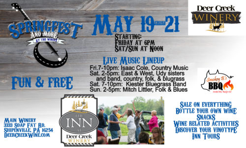 Springfest 2017 at Deer Creek Winery