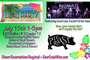2nd Annual Luau Party/Pig Roast