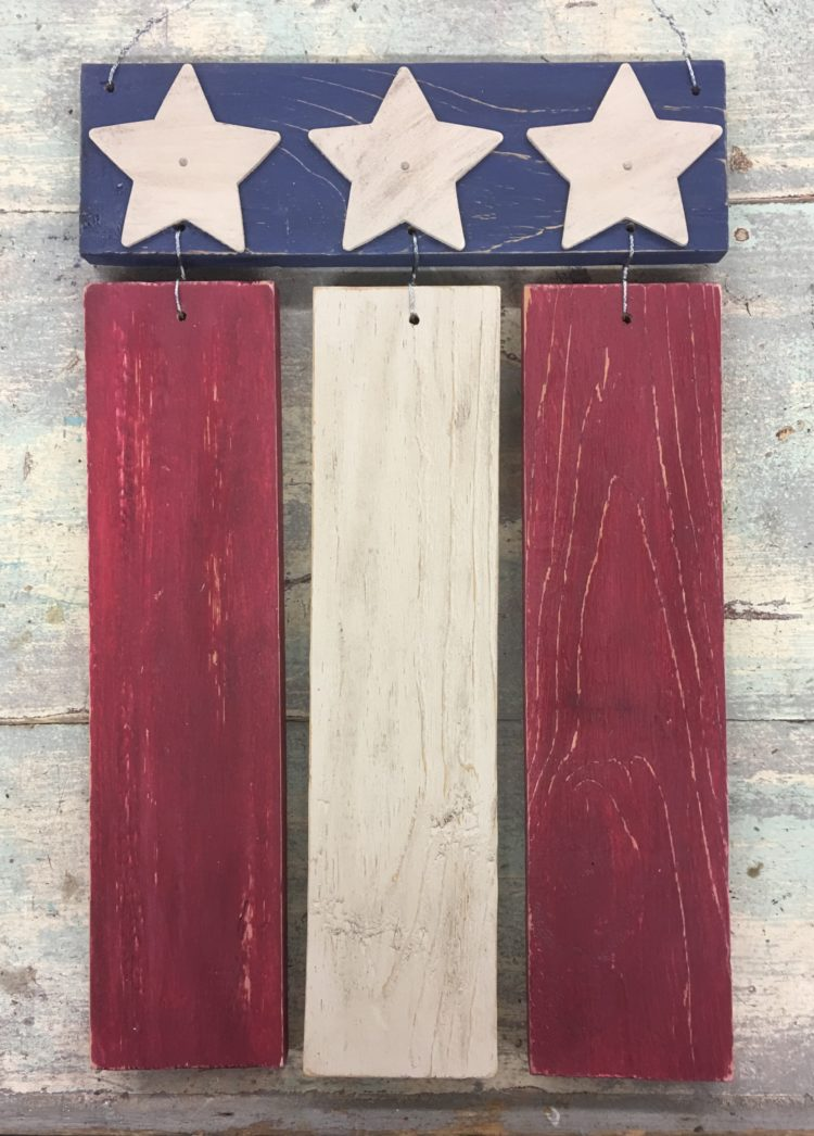 Pallet Flag Class with Olde Liberty
