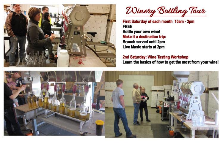 Wine Bottling Tour & Brunch