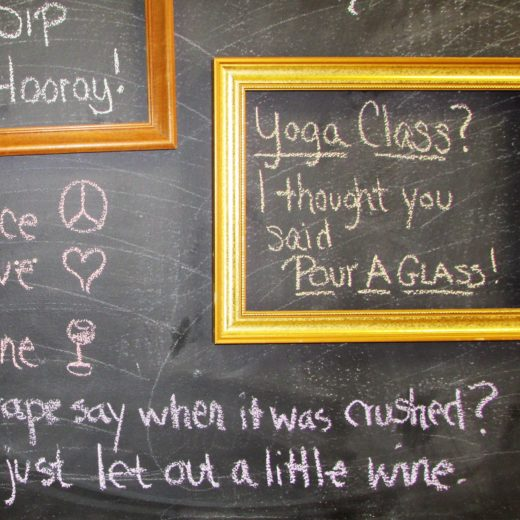 Yoga Class? I thought you said pour a glass!