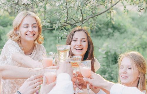 Deer Creek Winery girls' night out