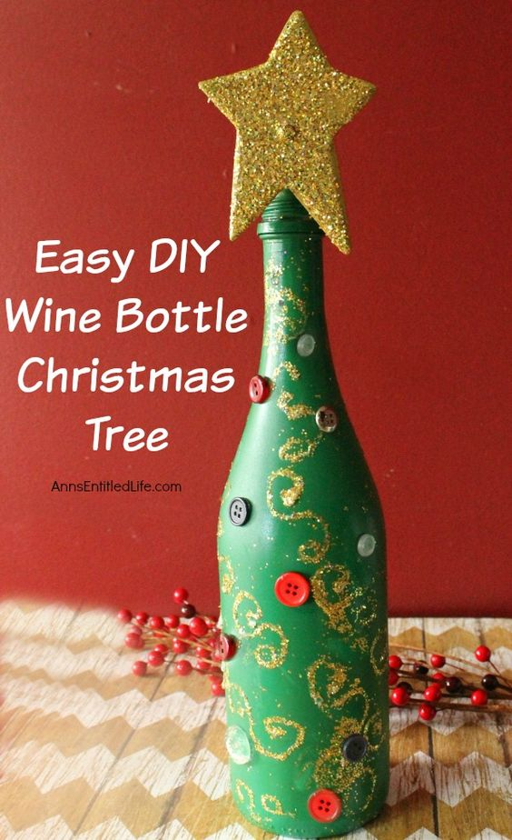 holiday wine crafts