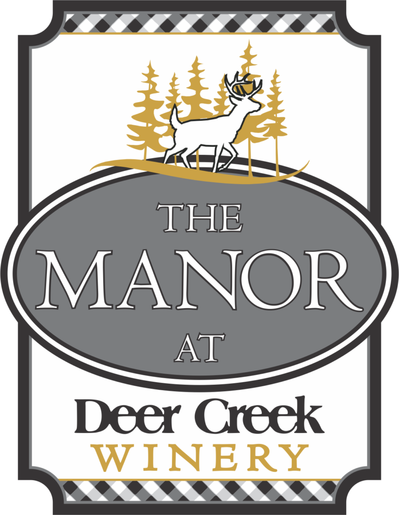 The Manor - vertical color logo